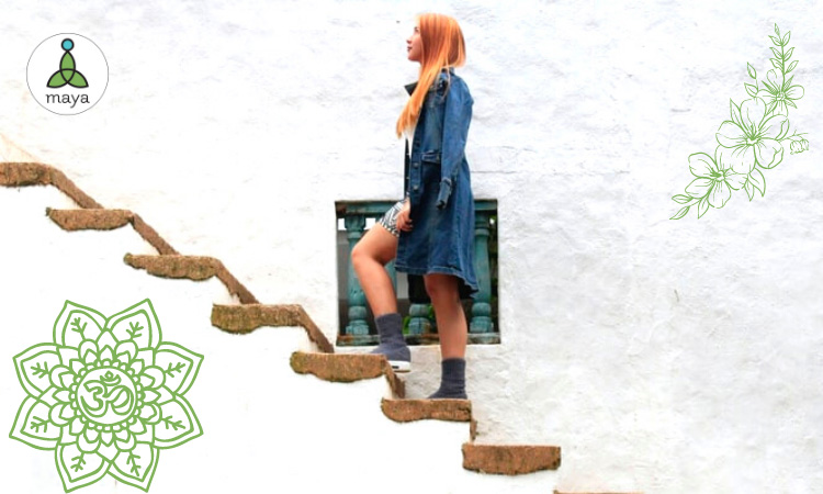 Lagano koračajte stepenicama života