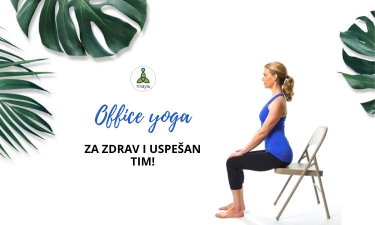 Office yoga - za zdrav i uspešan tim!