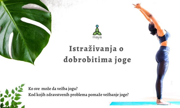 Rezultati naučnih istraživanja dobrobiti joge