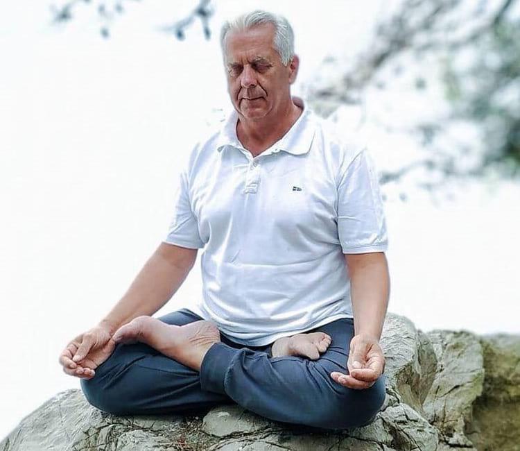 Jadranko Miklec učitelj joge i meditacije