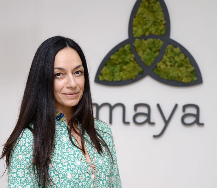 Maja Regoje učiteljica joge