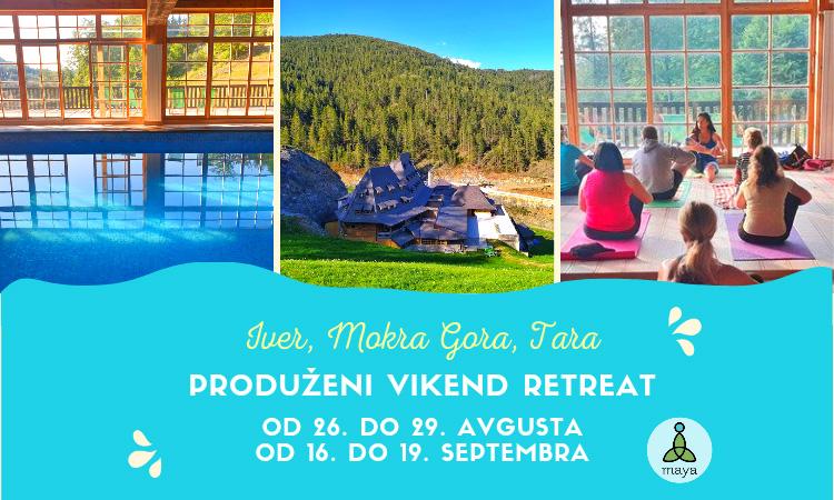Produženi vikend retreat - Iver, Mokra Gora, Tara