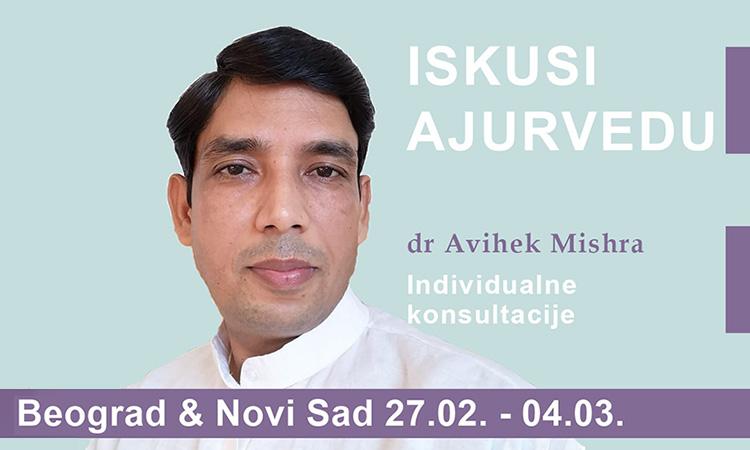 Ajurvedske konsultacije (pulsna dijagnostika) u Beogradu i Novom Sadu
