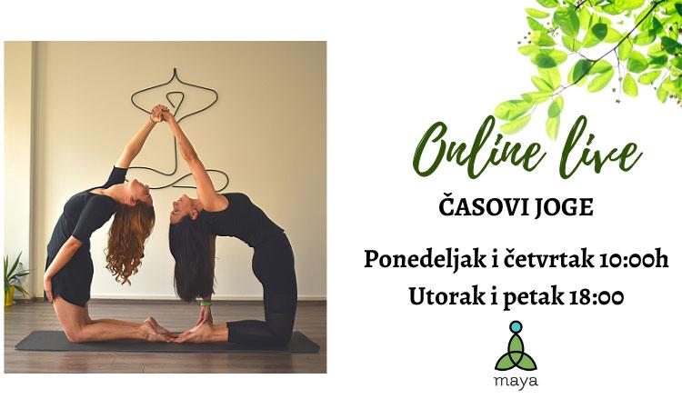 Online časovi joge