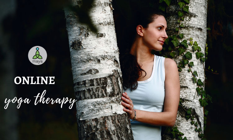 Online yoga therapy