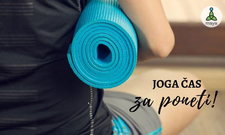 Yoga čas za poneti