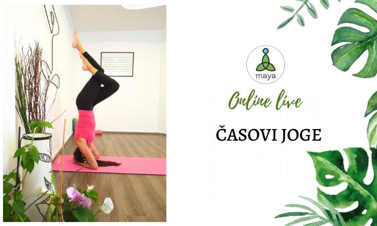 Yoga Online Live - Časovi joge